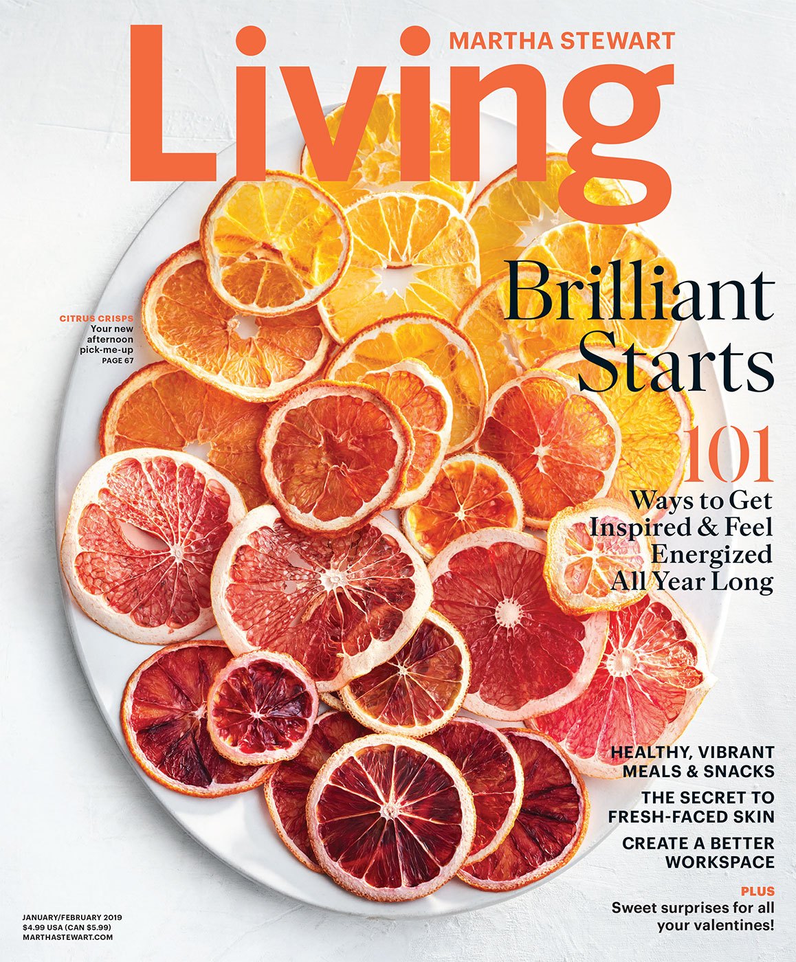 Martha Stewart Living | Jan/Feb 2019 Cover
