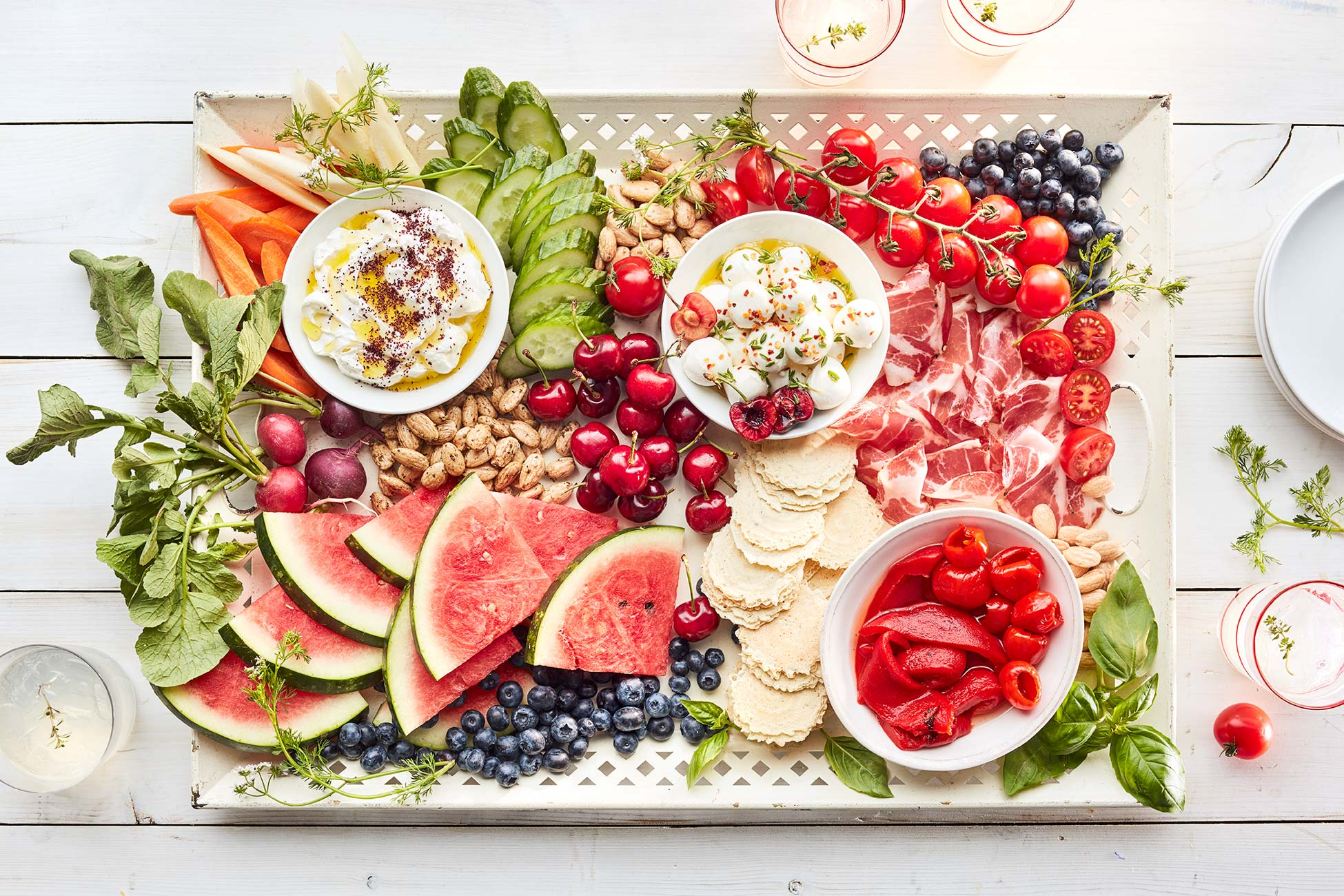 4th of July Grazing Board | Blue Diamond Almonds