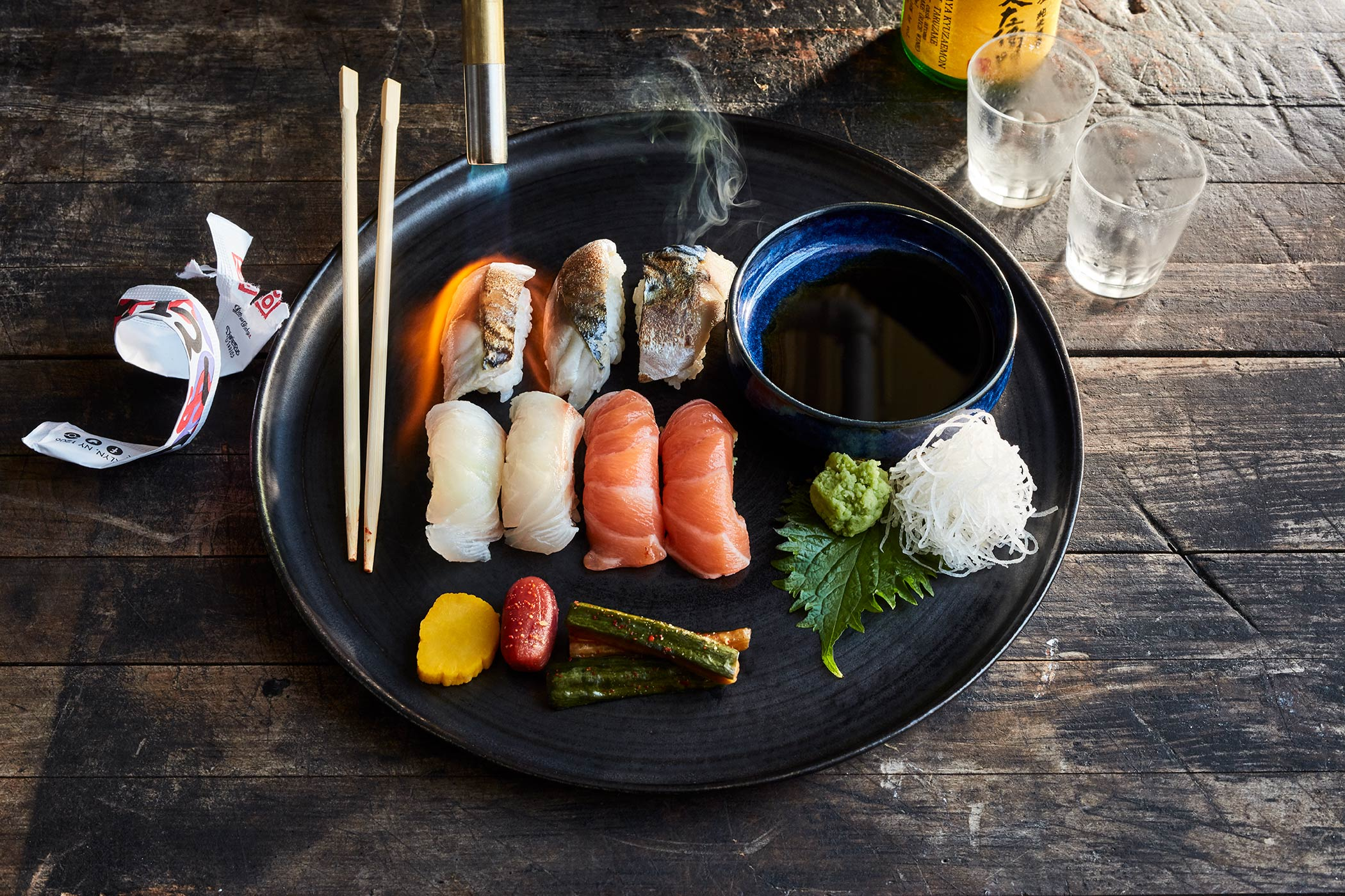 Nigiri & Pickles | BernzOmatic
