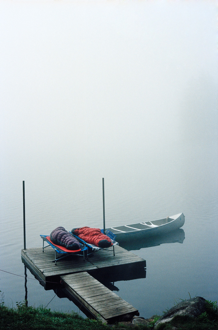 Foggy Morning On the Dock