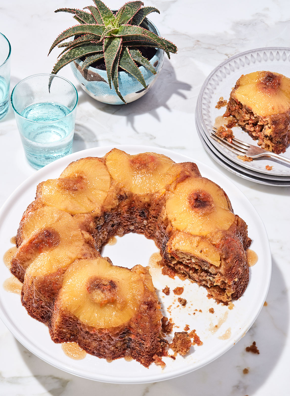 KitchenTwins_PineappleUpsidedownCake