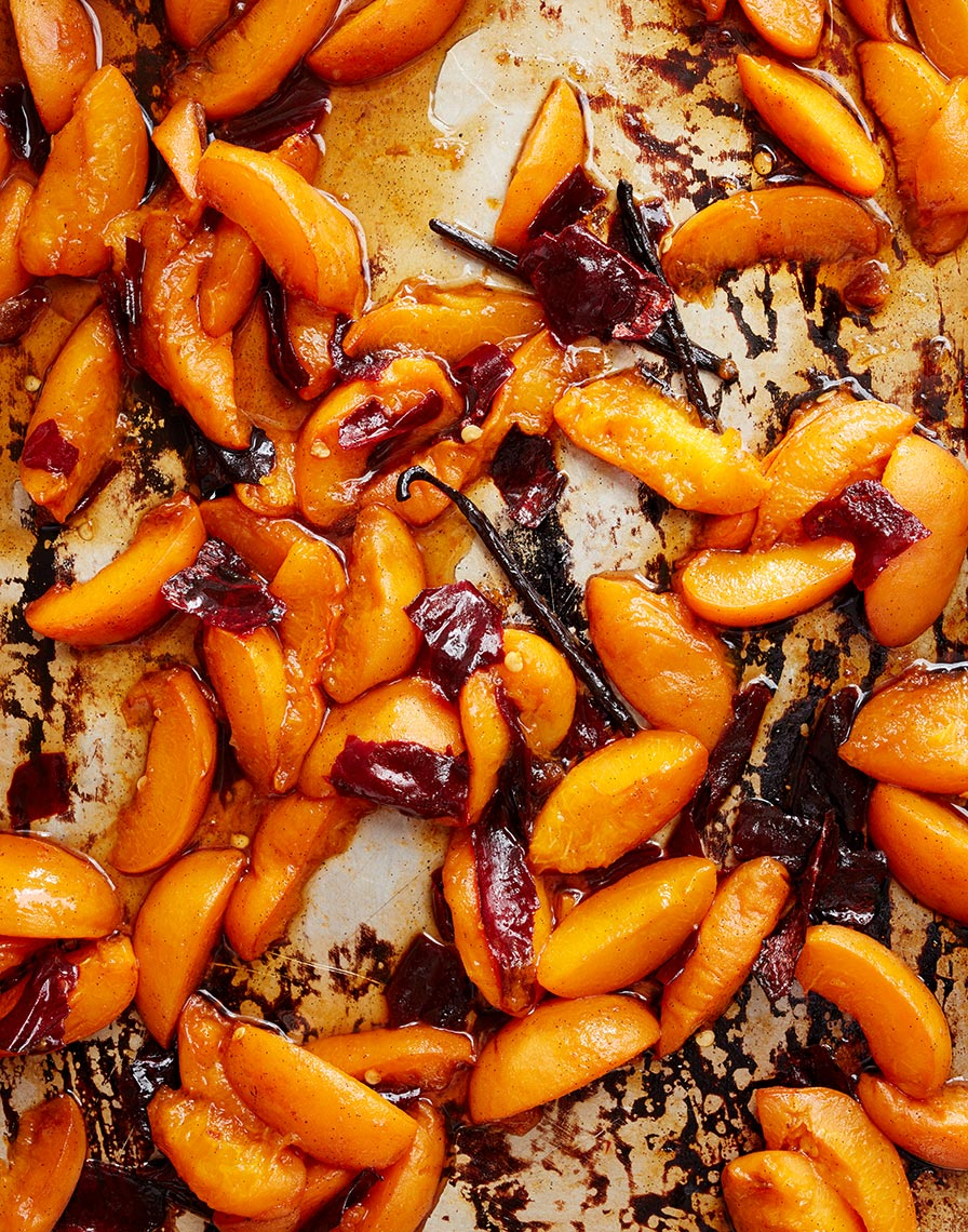 Roasted Apricots & Vanilla Beans
