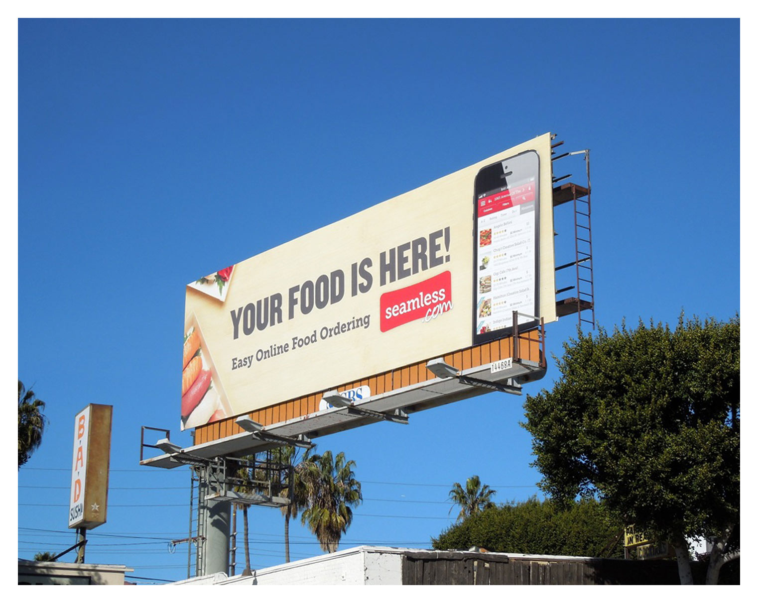 Seamless Billboard | Los Angeles, CA