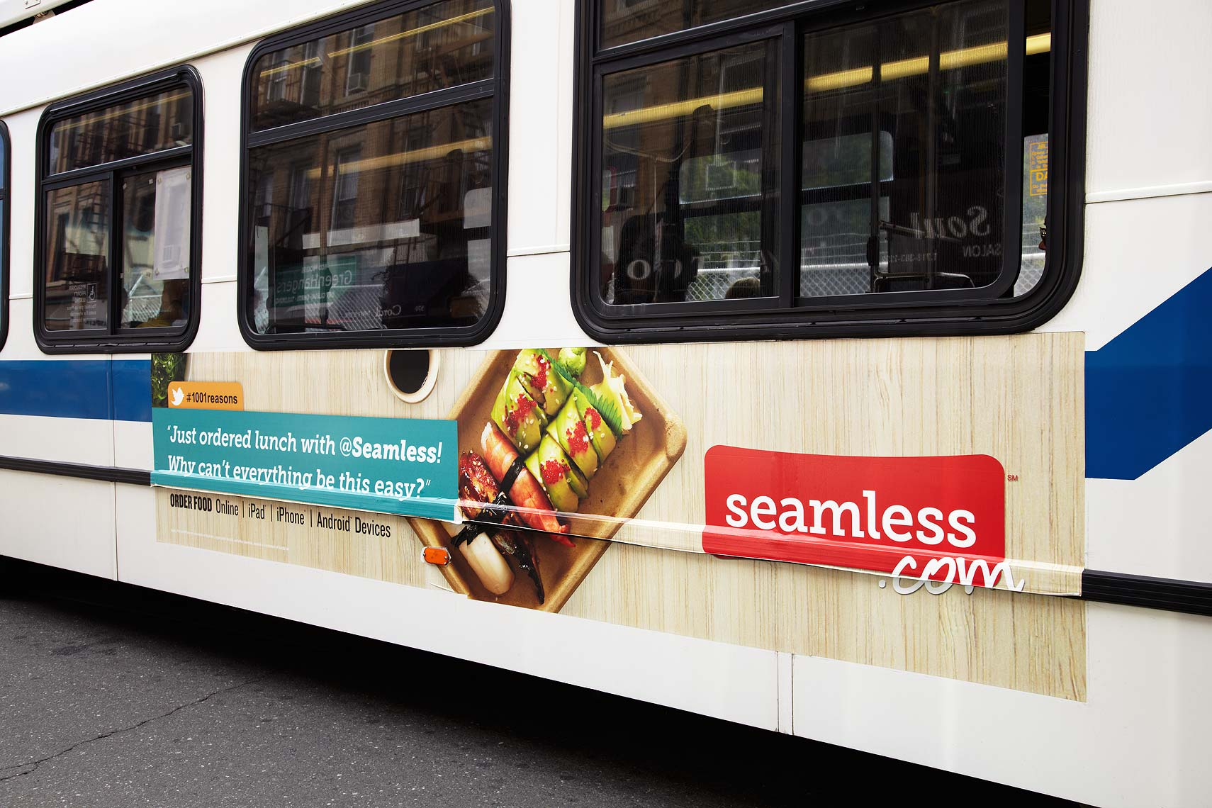 Seamless Bus Ad