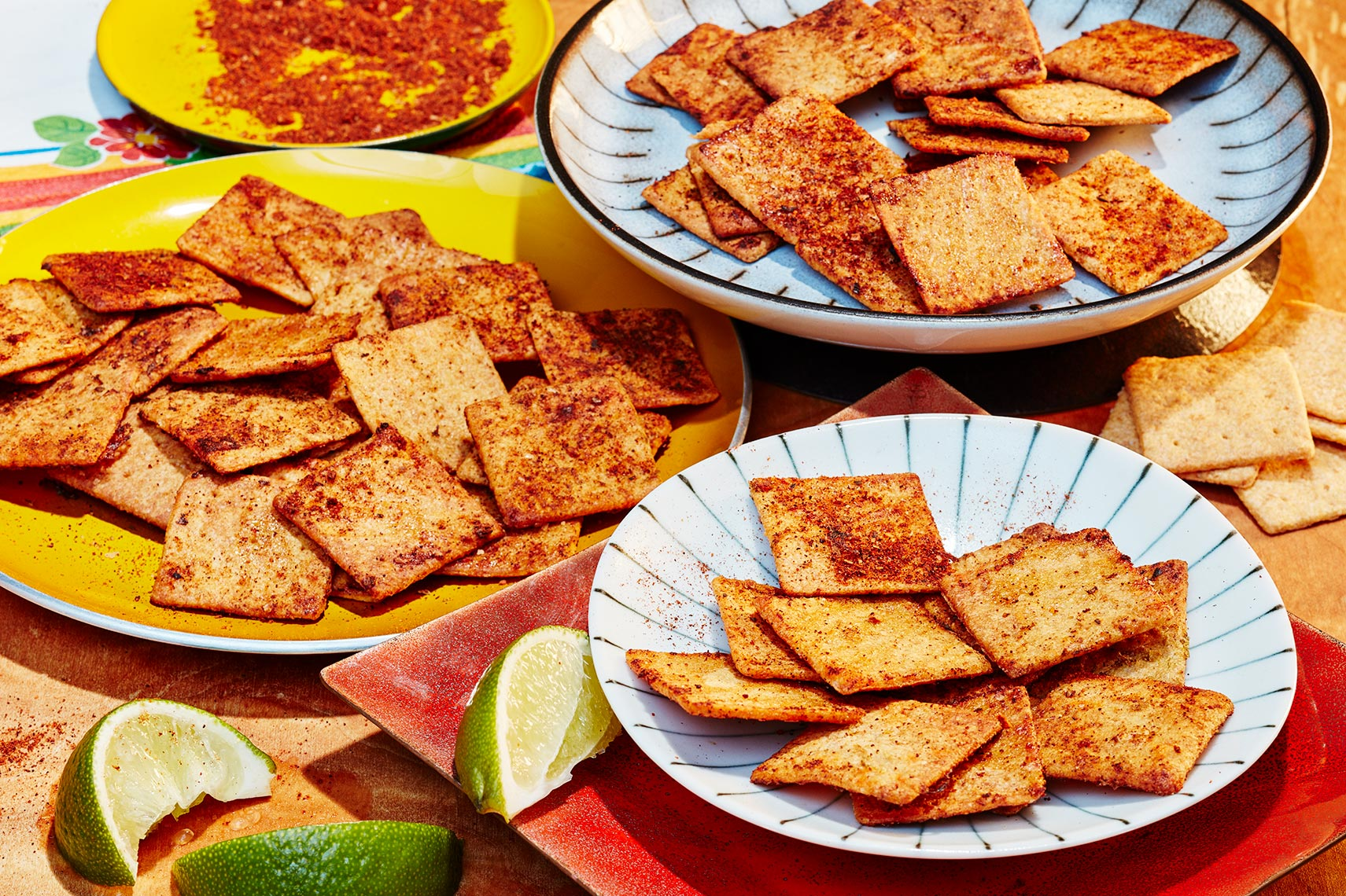 Spiced Wheat Thins