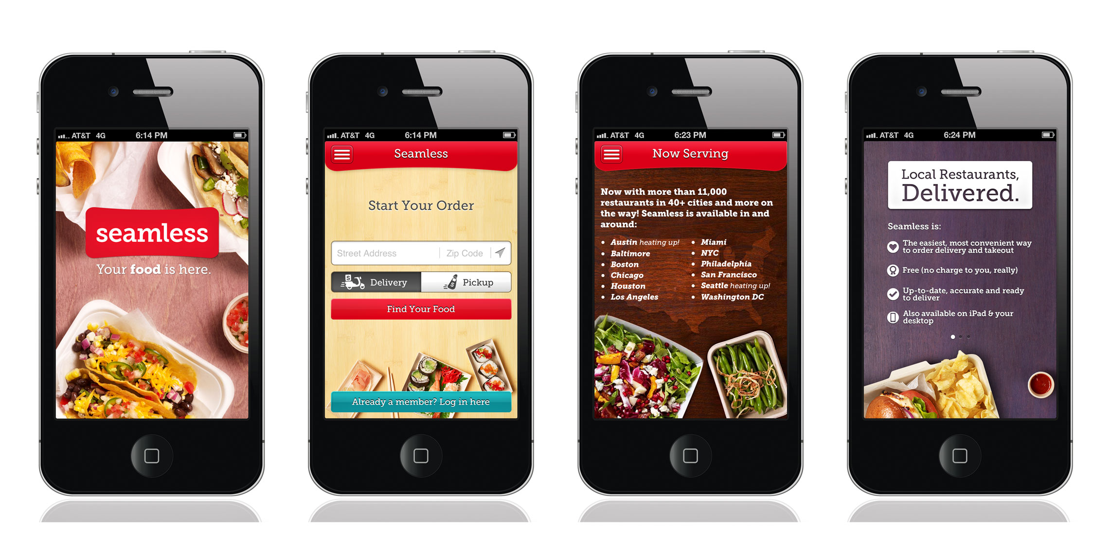 Seamless iPhone App